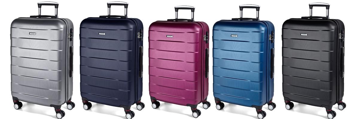 Cestovní kufry března nárazník
