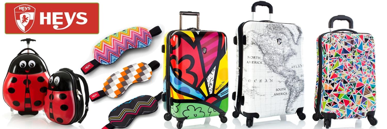 heys cestovní kufry